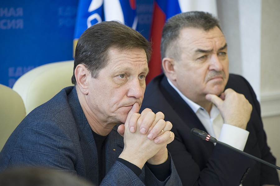 Валерий Ильенко и Александр Жуков (справа налево)