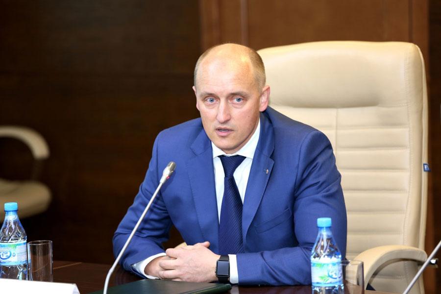 Директор нефтеперерабатывающего завода ООО «ВПК-Ойл» Сергей Тумашов