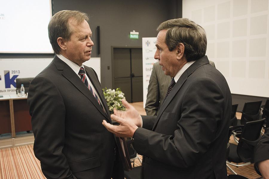 Владимир Никонов и Владимир Городецкий