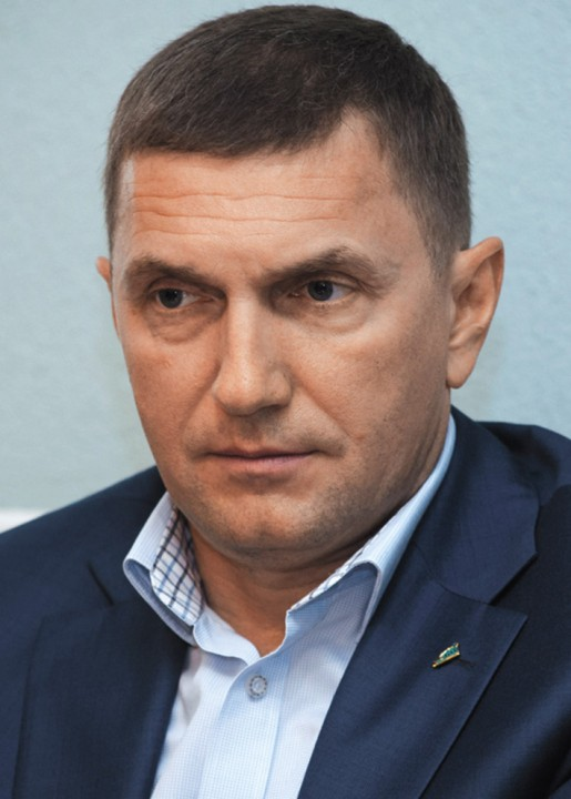 Владимир Шапоренко, глава банка «Левобережный»