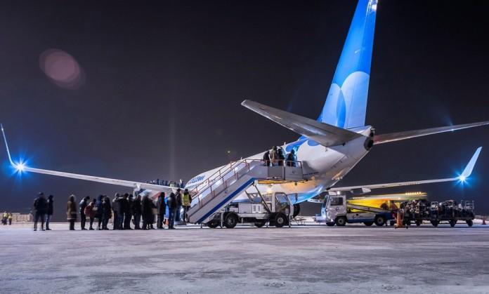 Миниатюра для: Пассажиропоток аэропорта Емельяново в ноябре вырос на 22%