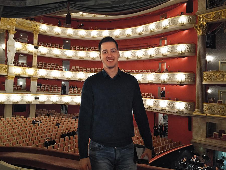 Андрей Ушаков в Bayerische Staatsoper