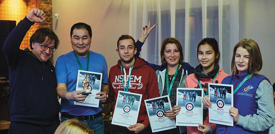 Дмитрий Терешков и команда Намжила Урбанаева