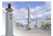Проект памятника Сталину в Новосибирске