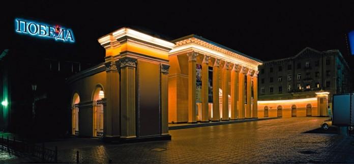 Улица Ленина может стать пешеходной. На фото - кинотеатр