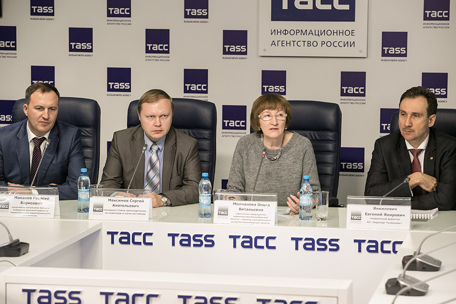 Министр экономического развития Ольга Молчанова провела пресс-конференцию