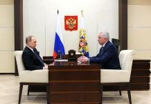 Вячеслав Наговицын и Владимир Путин