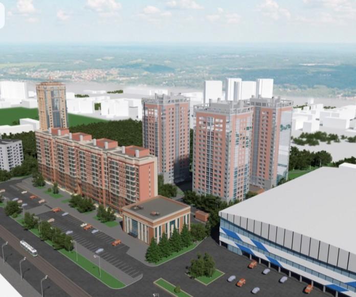 Миниатюра для: Проект застройки Богдана Хмельницкого Альфа-Капиталом рассмотрели на архитектурно-градостроительном совете Новосибирска