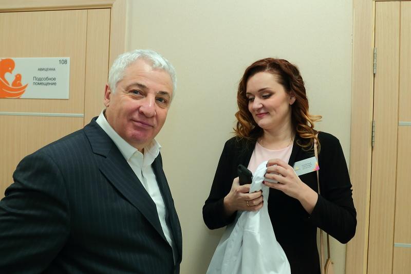 Основатель МЦ Авиценна в Новосибирске Борис Айзикович.