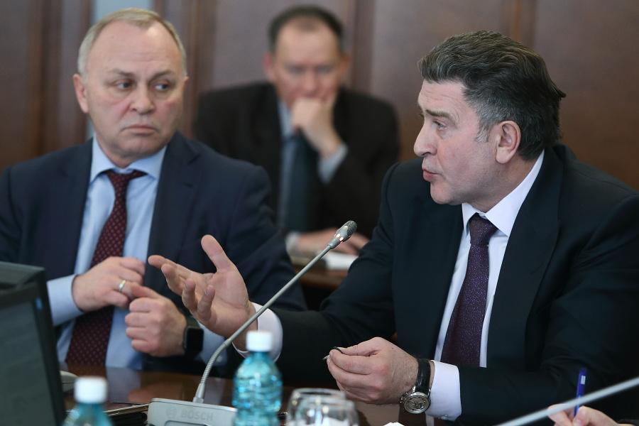 Андрей Шимкив (справа), Владимир Знатков (слева)