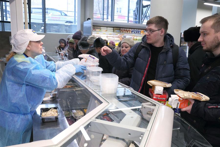 корне меняет фото с открытия супермаркета лента в новосибирске горшочки куриной