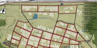 Генеральный план застройки спортивной деревни