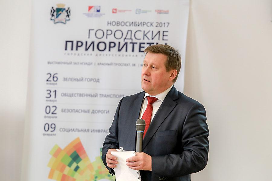 Мэр Новосибирска Анатолий Локоть
