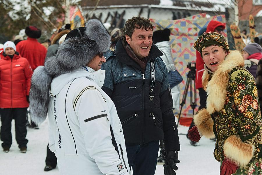 Дмитрий Терешков и Эдуард Таран