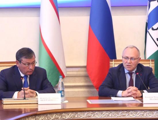 Миниатюра для: Новосибирскую область посетила делегация Узбекистана