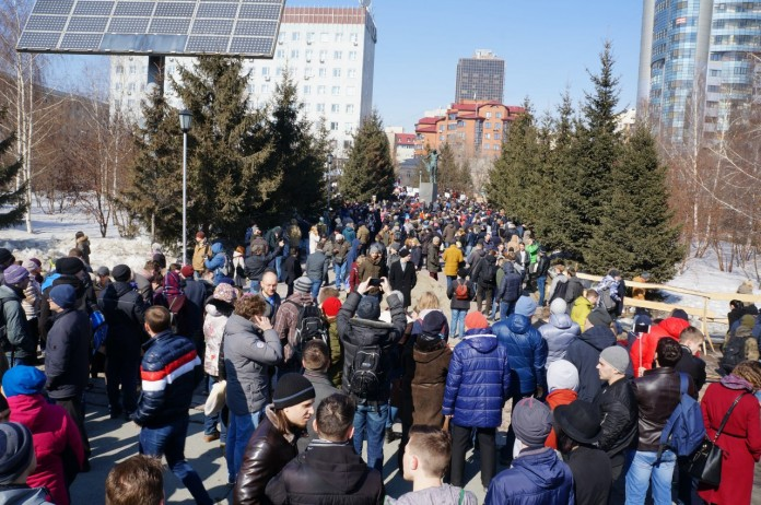 Митинг Навального