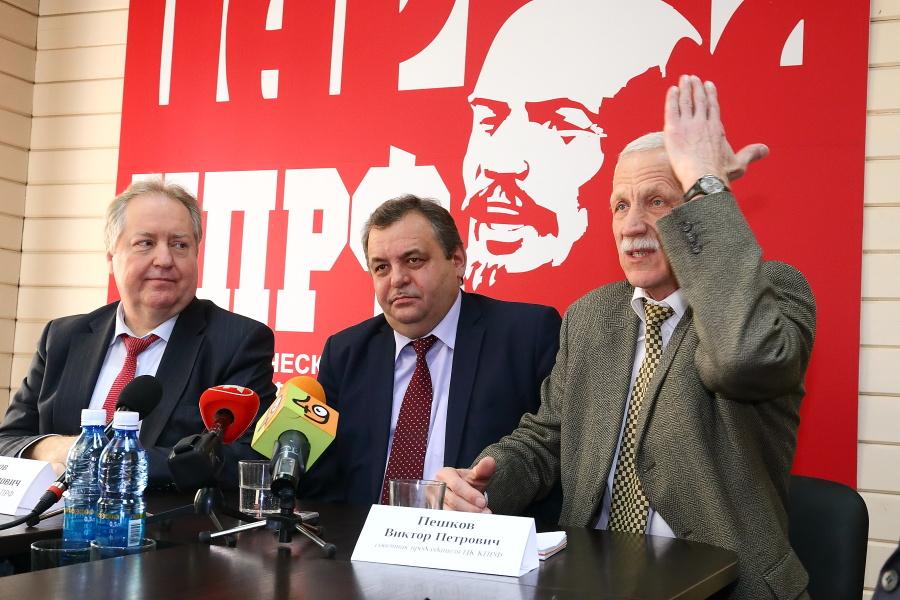 Сергей Обухов, Ренат Сулейманов и Виктор Пешков (слева направо)