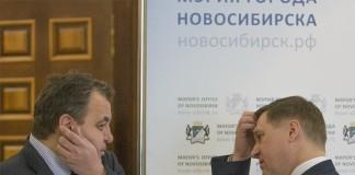 Ренат Сулейманов и Анатолий Локоть