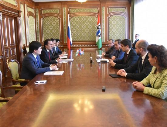 Миниатюра для: Генеральное консульство Таджикистана откроется в Новосибирске