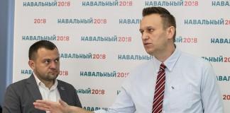 Сергей Бойко и Алексей Навальный (слева направо)