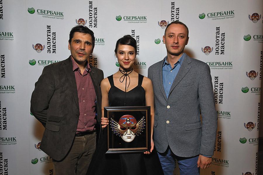 Коллектив театра «Красный факел» на церемонии награждения