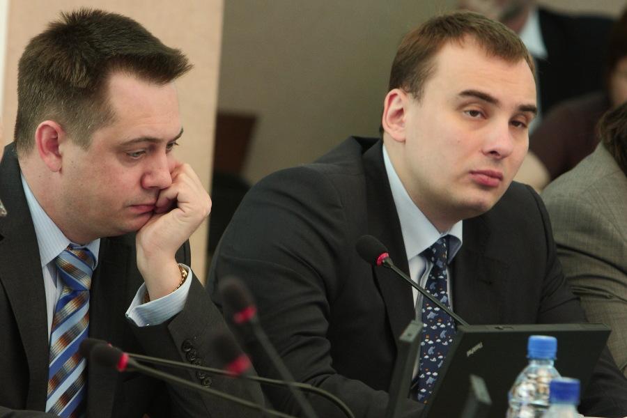 Андрей Каличенко, Иван Сидоренко (слева направо)