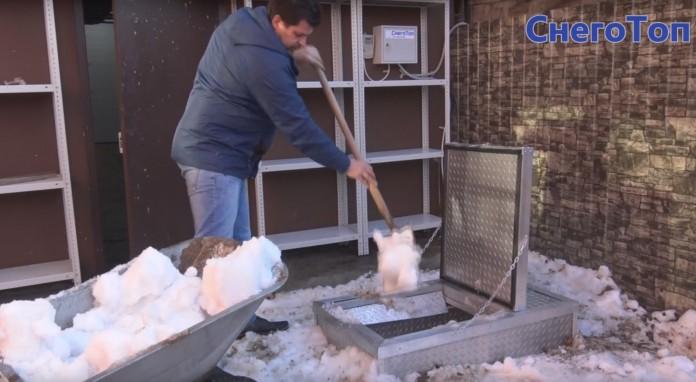 Миниатюра для: В Новосибирске запущено производство первой в мире компактной снегоплавильной станции