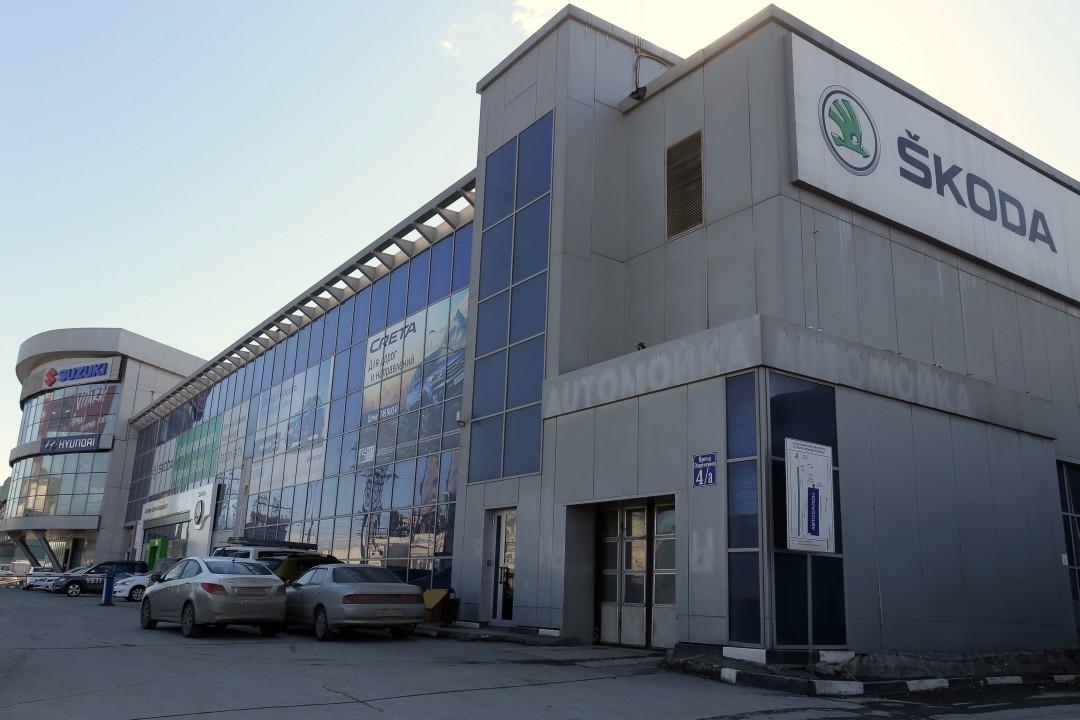 Дилерский центр Audi в Новосибирске по предварительным данным будет располагаться на площадке рядом со Skoda в здании на проспекте Энергетиков