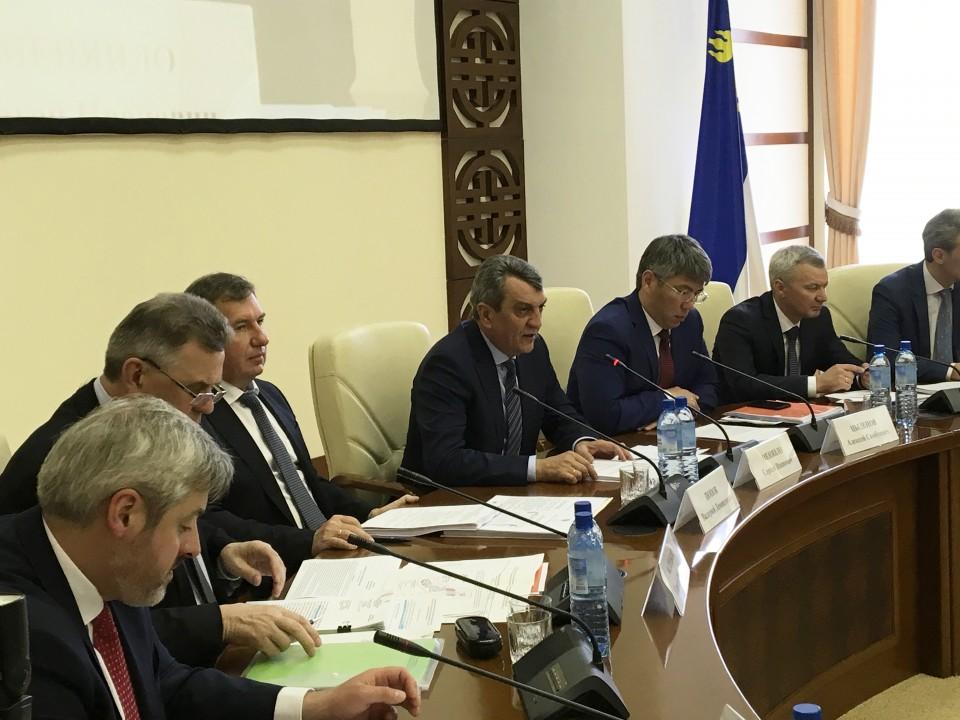 Обсуждение плана социально-экономического развития Забайкальского края