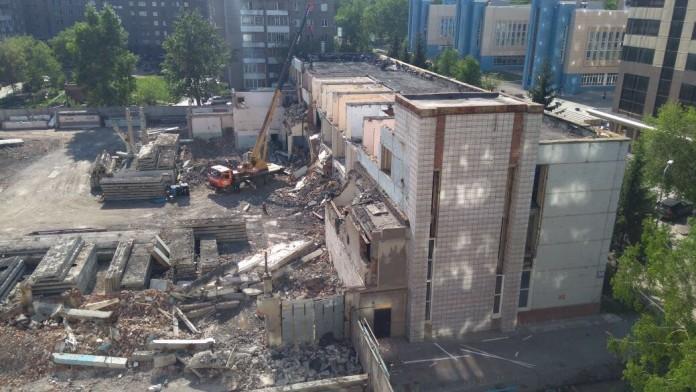 Миниатюра для: На месте регионального отделения «Единой России» появится жилье бизнес-класса