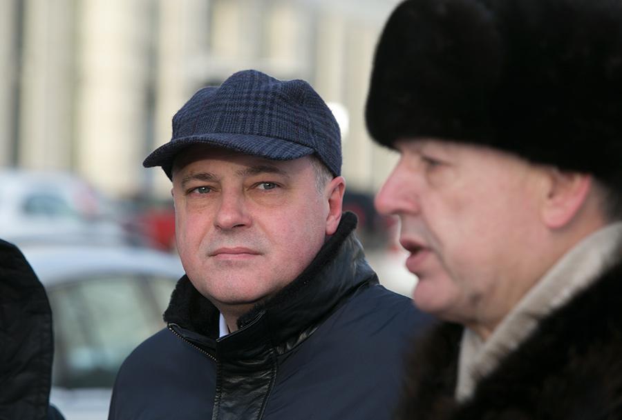 Андрей Ксензов (слева) с Сергеем Райхманом