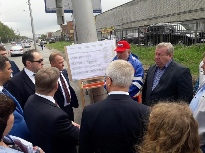 Миниатюра для: Развязки Бугринского моста требуют федерального финансирования