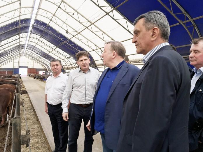 Полпред президента России в СФО Сергей Меняйло посетил села Алтайского края