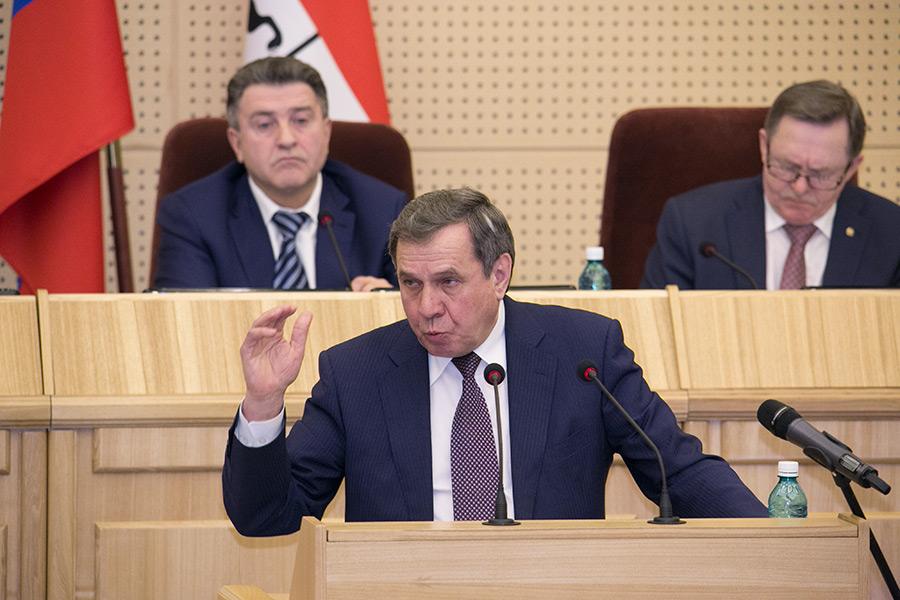 Владимир Городецкий в заксобрании