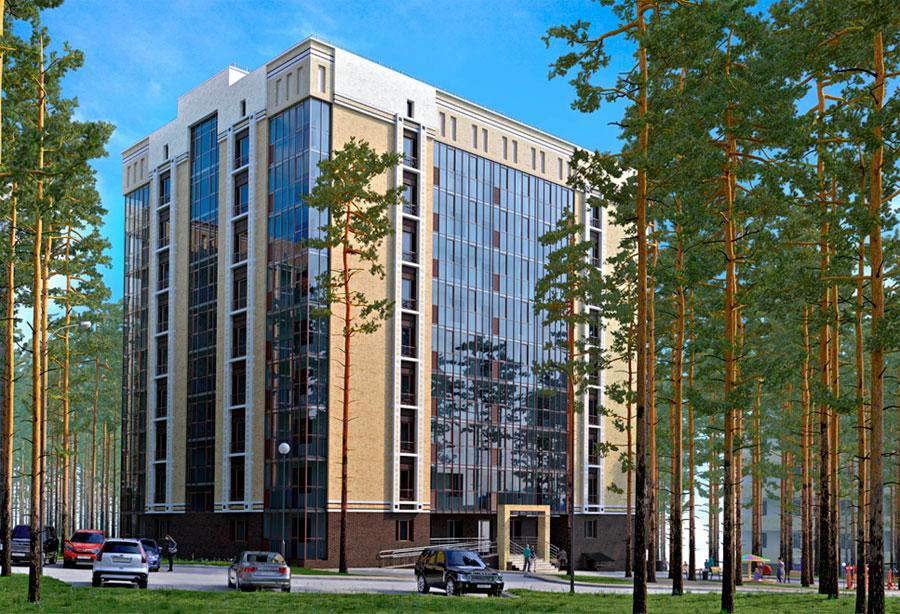 жилой комплекс бизнес-класса Rechkunovsky