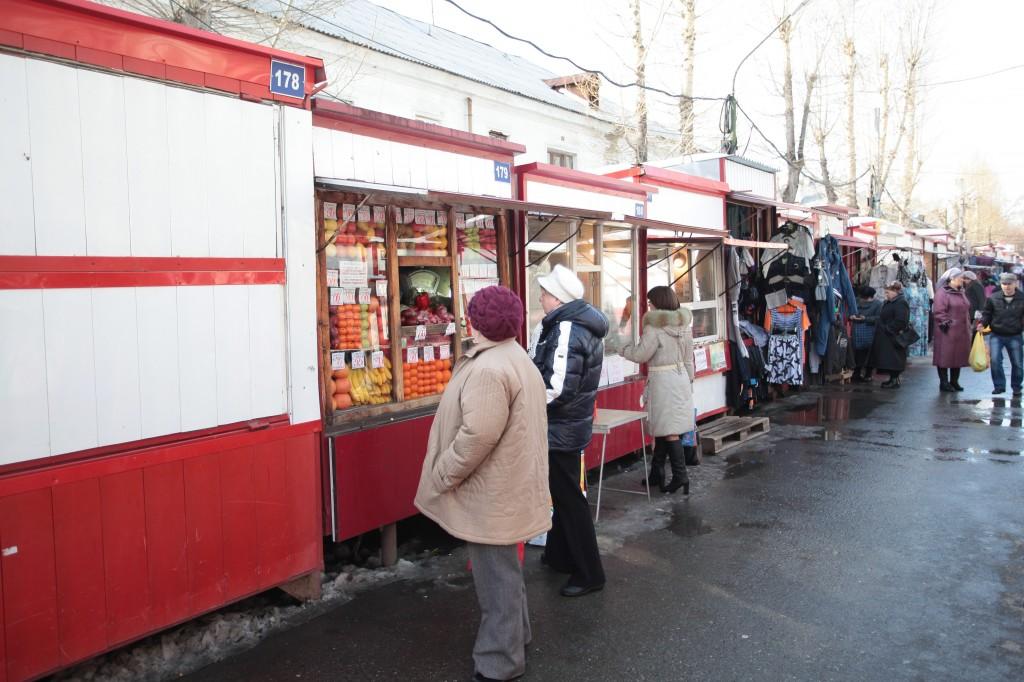 рынок в Томске