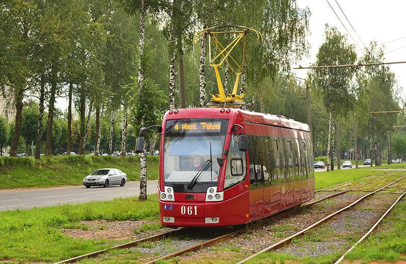 Новая модель БКМ-802, которая пока существует в единственном экземпляре в Белоруссии. Фото: gortrans.ru