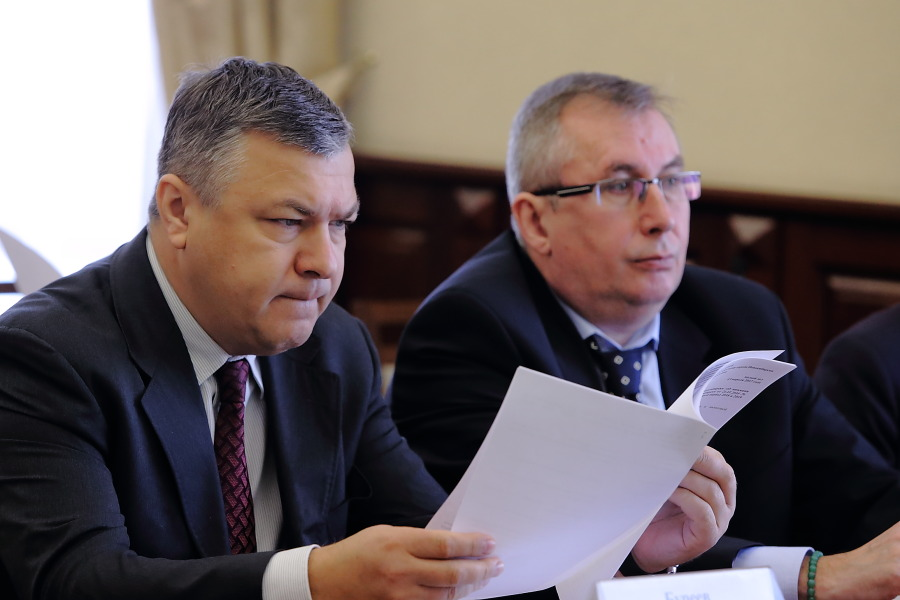 Борис Буреев и Александр Веселков (слева направо)