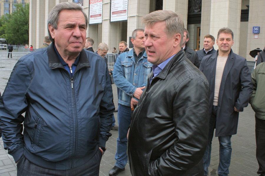 Празднование Дня России в Новосибирске
