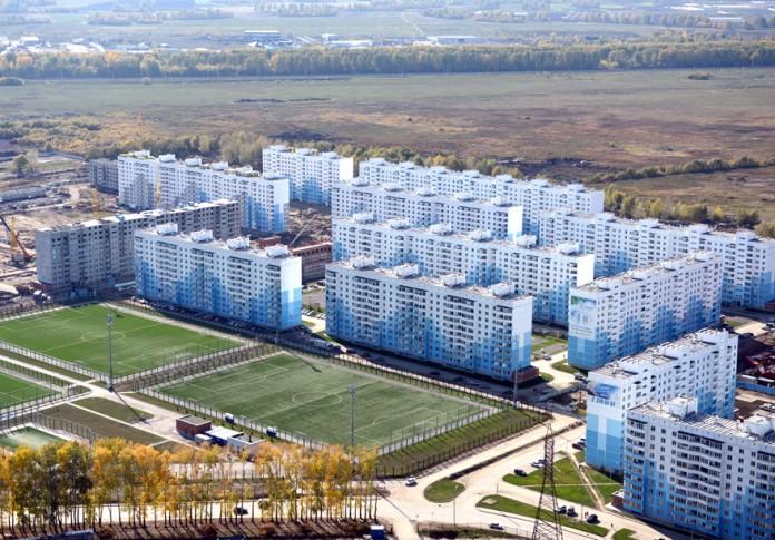 Миниатюра для: Мэрия Новосибирска выставила на продажу долгострой недалеко от
