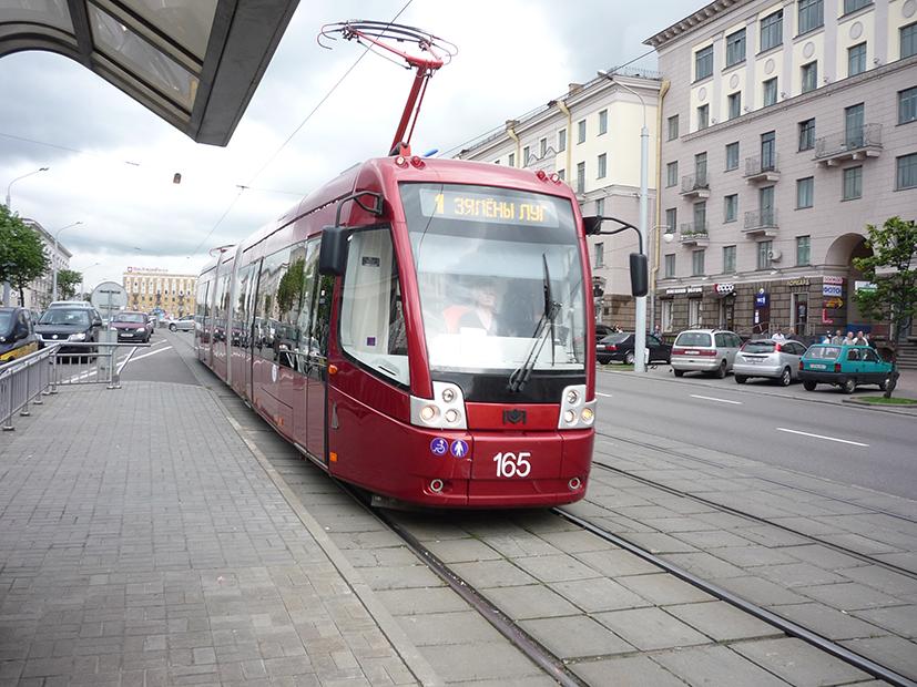 Современный белорусский вагон БКМ-843
