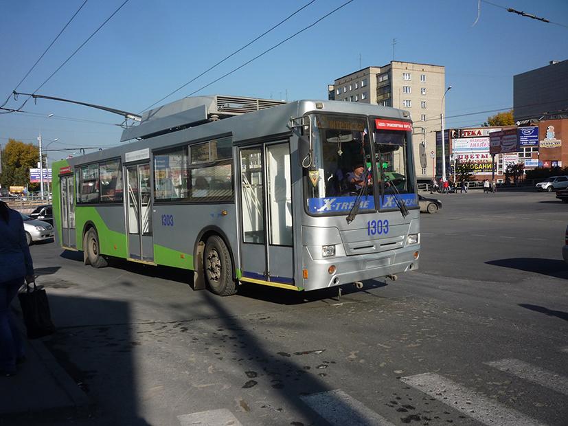 Модель сибирского троллейбуса