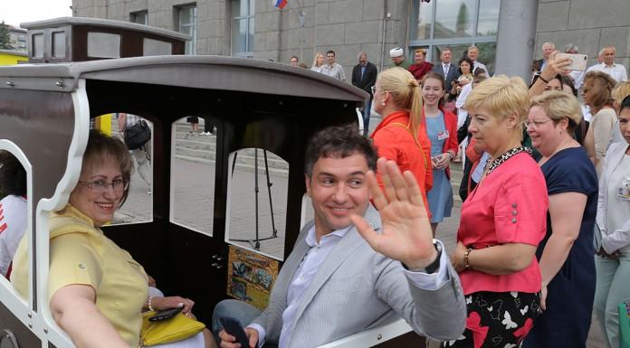 Новосибирск отметил 124-летие