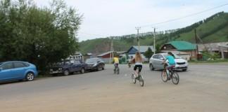 Активисты ОНФ прибыли на опасный перекресток Горно-Алтайска