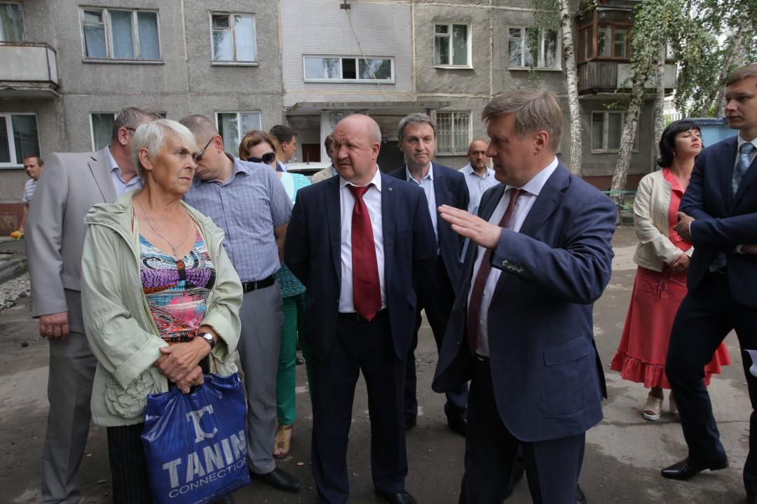ремонт дворов в Новосибирске