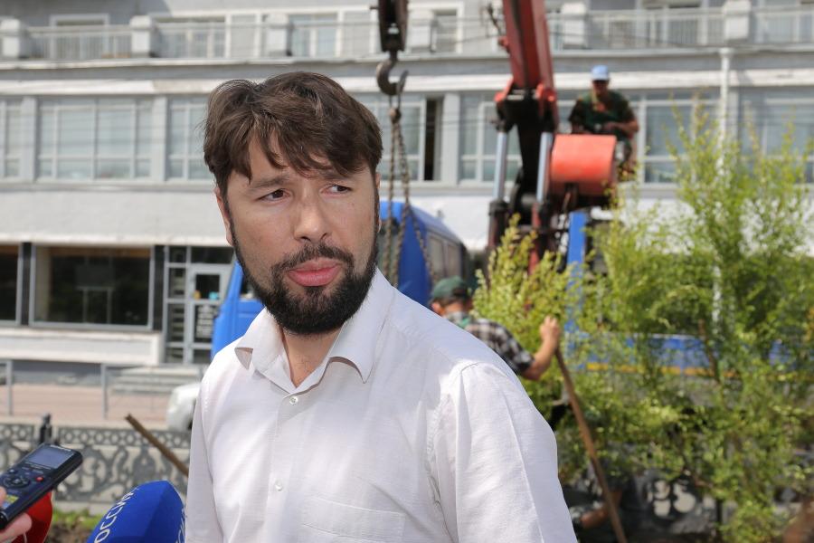 Заместитель директора МКУ «Горзеленхоз» Максим Салахов
