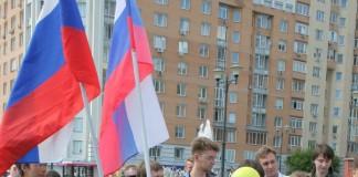 Акция сторонников Навального в Новосибирске 9 июля