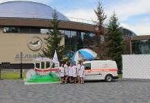 Клиника «РЖД-Медицина» и новосибирский зоопарк организовали детский праздник