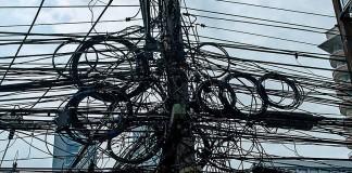 Провода провайдеров