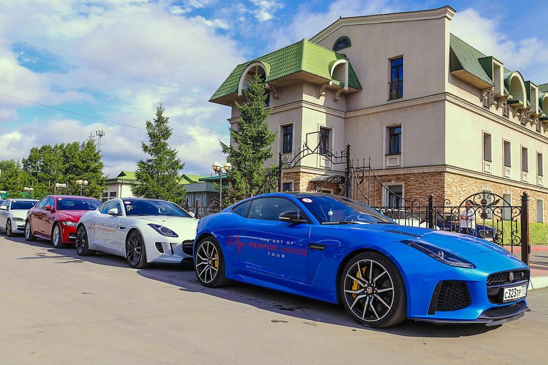 Роуд-шоу Jaguar Land Rover в Новосибирске